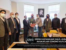 Didim'de 5 Nisan 2021 Avukatlar Günü Kaymakamlık Kutlaması-Ege İdea Dergi
