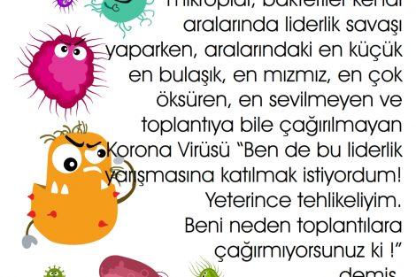Çocuklar için Ege İdea Dergi'den hediye Korona Masalı - Yazan Umut Kaşan -Seslendiren Nazmiye Üge özel