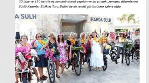 Didim Süslü Kadınlar Bisiklet Turu